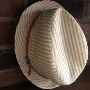 Cotton On Accessories - Striped Fedora Hat - Women's OS